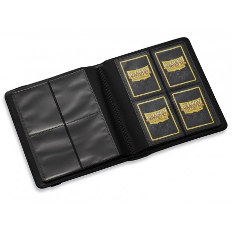 Dragon Shield - Card Codex - Portfolio 160 - 4 Cases - Noir
