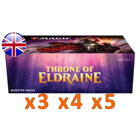Booster Box : Throne of Eldraine (x3 and more)