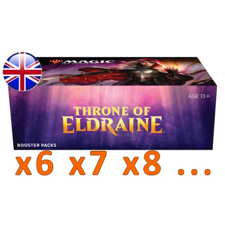 Booster Box : Throne of Eldraine (x6 and more)