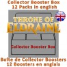 Boîte de Collector Boosters : Throne of Eldraine (12 Boosters) (EN)
