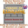 Collector Booster Box : Throne of Eldraine (12 Packs) (EN)