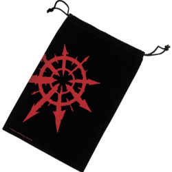 Warhammer 40,000 - Sac à dés Chaos Star (Rouge)