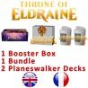 Pack 1 : Le trône d'Eldraine (Boîte de 36 boosters + Bundle + 2 Planeswalker decks)