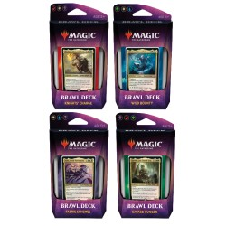 Lot de 4 Brawl Decks : Throne of Eldraine (EN)