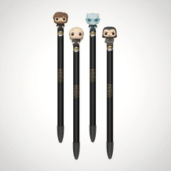Game of Thrones POP! Homewares - lot de 4 Stylos à bille avec embouts