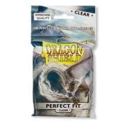 Dragon Shield Perfect Fit Sleeves Clear Front & Back (x100)