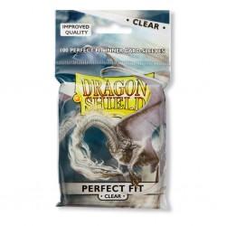 Pochettes Dragon Shield Perfect Fit Clear / Transparente Avant et Arrière (x100)