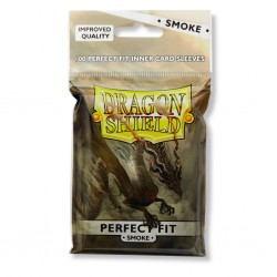 Dragon Shield - 100 Standard Sleeves - Perfect Fit Smoke