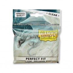 Dragon Shield - Standard Sleeves - Perfect Fit Sideloading Clear