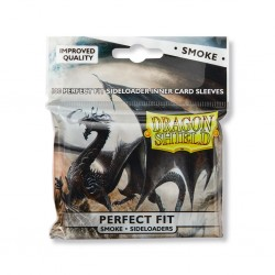 Dragon Shield - 100 Standard Sleeves - Perfect Fit Sideloading Smoke
