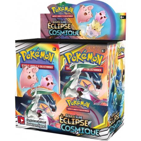 Boîte de 36 Boosters Éclipse Cosmique Pokémon SM12 (FR)