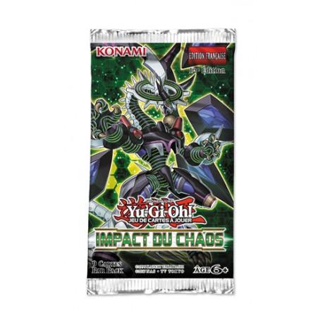 Boite de 24 Boosters Yu-Gi-Oh! Impact du Chaos (FR)