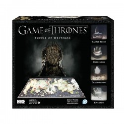 4D Cityscape - Game of Thrones - Westeros Puzzle (EN)