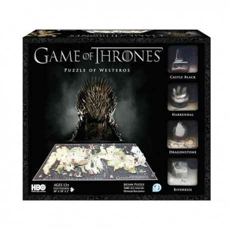 Game of Thrones - 4D Cityscape - Puzzle - Westeros
