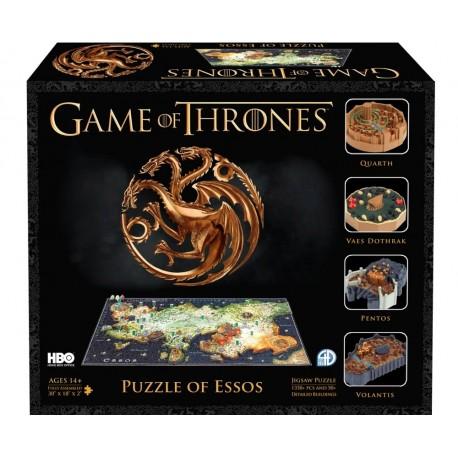 4D Cityscape - Game of Thrones - Essos Puzzle (EN)