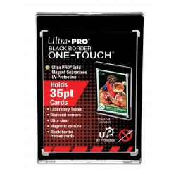 Ultra Pro Black Border UV One Touch Magnetic Holder - Carte de taille Standard