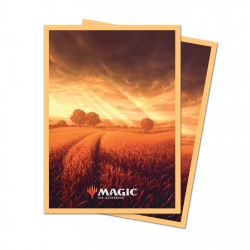 Ultra Pro - 100 Standard Sleeves - Unstable Lands - Plains