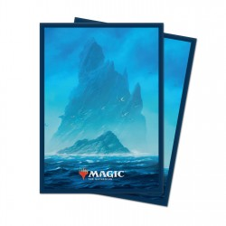Ultra Pro - 100 Standard Sleeves - Unstable Lands - Island
