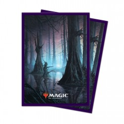Ultra Pro - 100 Standard Sleeves - Unstable Lands - Swamp
