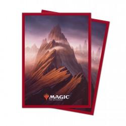 Ultra Pro Protège-cartes Unstable Lands Mountain (x100)