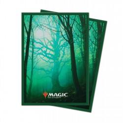 Ultra Pro - 100 Standard Sleeves - Unstable Lands - Forest