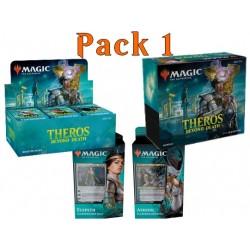 Pack 1 : Theros par-delà la mort (Boîte de 36 boosters + Bundle + 2 Planeswalker decks)