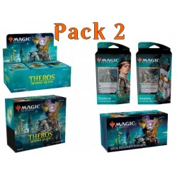 Pack 2 : Theros par-delà la mort (Boîte 36 boosters + Bundle + 2 Planeswalker decks + Kit construction deck)