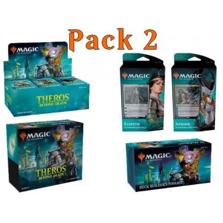 Pack 1 : Theros Beyond Death (36-Booster Box + Bundle + 2 Planeswalker Decks + Deck Builder's Toolkit)