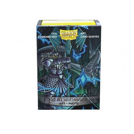 Dragon Shield Matte Art Sleeves : King Athromark III: Protrait (x100)