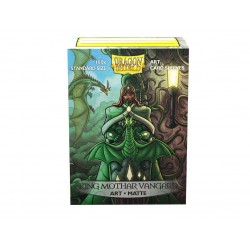 Dragon Shield Protège-cartes Matte Art Sleeves : King Mothar Vangard: Protrait (x100)