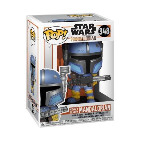 Star Wars The Mandalorian POP Figure - Heavy Infantry Mandaloria 348