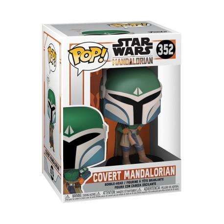 Star Wars The Mandalorian POP Figure - Covert Mandalorian 352