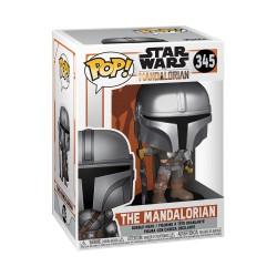 Star Wars The Mandalorian Figurine Pop - The Mandalorian 345