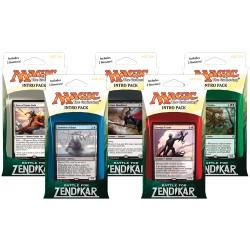 Intro Packs set of 5 Battle for Zendikar