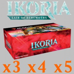 Ikoria: Lair of Behemoths - Boîte de 36 Boosters (x3 ou plus)