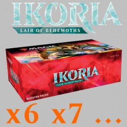 Ikoria: Lair of Behemoths - Boîte de 36 Boosters (x6 ou plus)