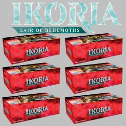 Ikoria: Lair of Behemoths - Carton de 6 Boîtes de Boosters