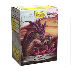 Dragon Shield - 100 Standard Sleeves - Matte Art Sleeves - Mother's Day Dragon