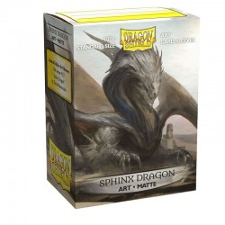 Dragon Shield - 100 Standard Sleeves - Matte Art Sleeves - Sphinx Dragon