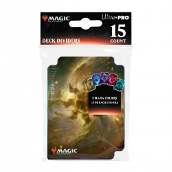 Ultra Pro - Deck Dividers - Intercalaires Celestial Lands (x15)