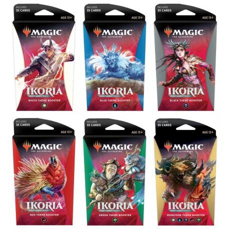 Ikoria: Lair of Behemoths - Set of 5-color Theme Boosters (EN)