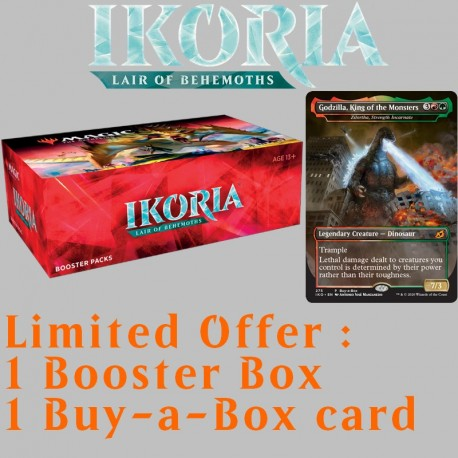 Ikoria: Lair of Behemoths - Booster Box with Buy-a-Box