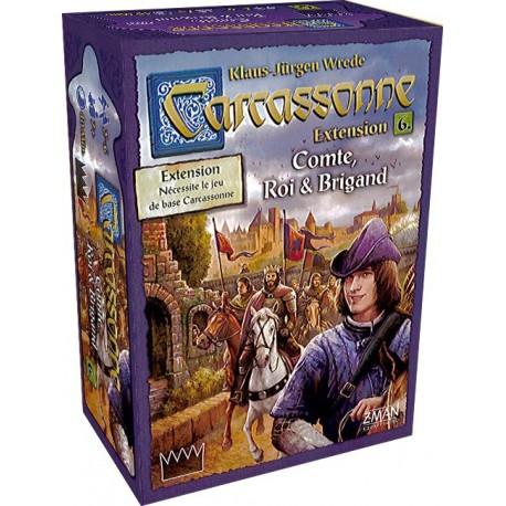 Carcassonne : Comte, Roi & Brigands - Extension 6 (FR)