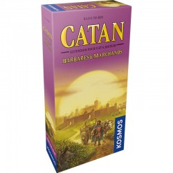 Catan - Barbares et Marchands - Extension 5-6 joueurs (FR)