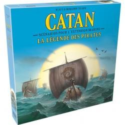 Catane La Légende des Pirates - Scénarios pour l'extension Marins (FR)