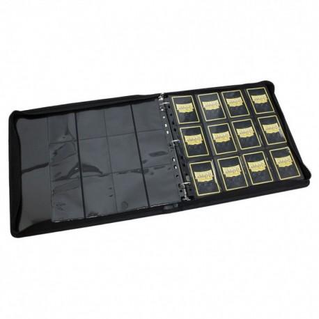 Dragon Shield - Card Codex - Zipster Binder - 3-Ring - XL - Black