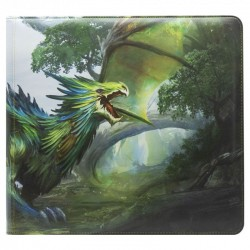 Dragon Shield - Card Codex - Zipster Binder - 3 Anneaux - XL - Olive Lavom