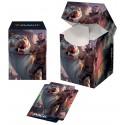 Ultra Pro - Pro 100+ Deck Box - Ikoria: Lair of Behemoths - Lukka, Coppercoat Outcast
