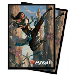 Ultra Pro - 100 Protège-cartes Standard - Ikoria: Lair of Behemoths - Vivien, Monster's Advocate