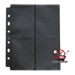 Dragon Shield - 8-Pocket Pages Non Glare - 50 feuilles de classeur non éblouissantes